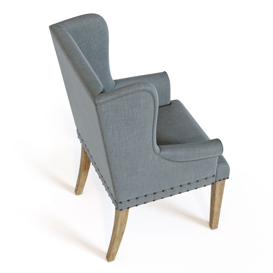 Ollesburg Dining Room Chair royalty-free 3d model - Preview no. 4