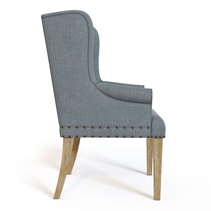 Ollesburg Dining Room Chair royalty-free 3d model - Preview no. 2