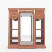 仿古餐边柜 3d model
