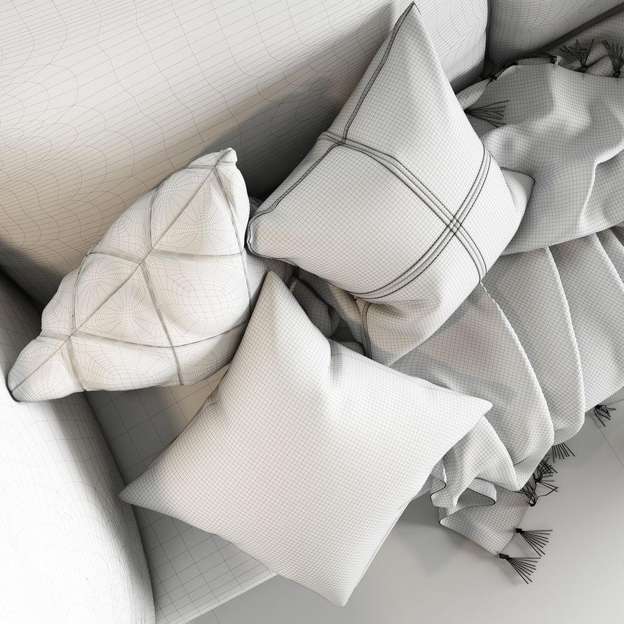 BoConcept Nantes soffa royalty-free 3d model - Preview no. 14