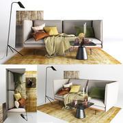 BoConcept Nantes Sofa modelo 3d