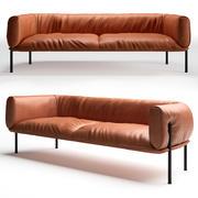 Molinari Rondo Sofa 3d model