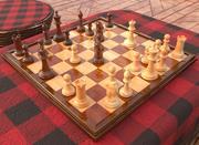 Chess Highpoly 3d model