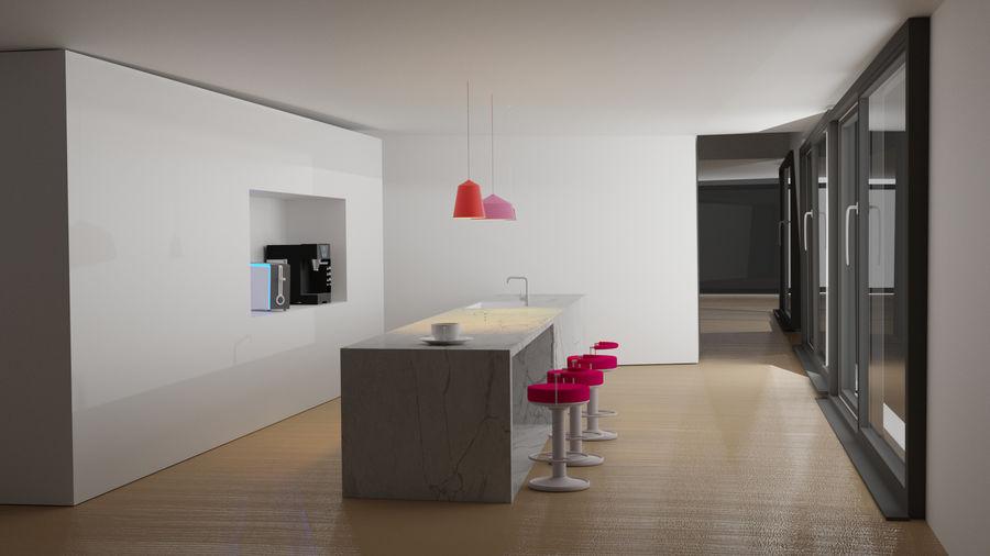 Diseño moderno de cocina royalty-free modelo 3d - Preview no. 1