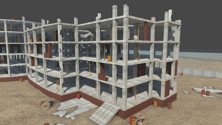 房屋建筑-模块化建筑 royalty-free 3d model - Preview no. 7