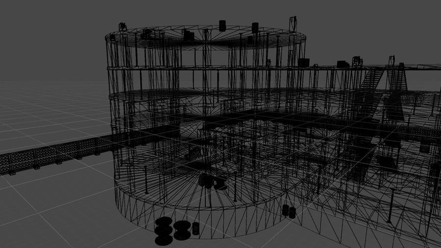 房屋建筑-模块化建筑 royalty-free 3d model - Preview no. 2