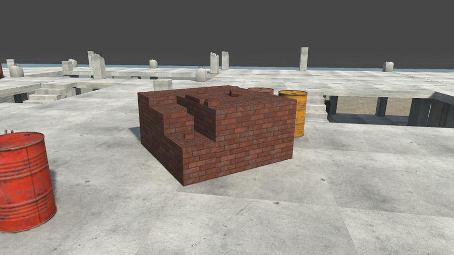 房屋建筑-模块化建筑 royalty-free 3d model - Preview no. 5