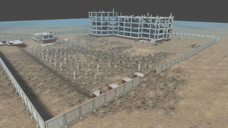 房屋建筑-模块化建筑 royalty-free 3d model - Preview no. 1