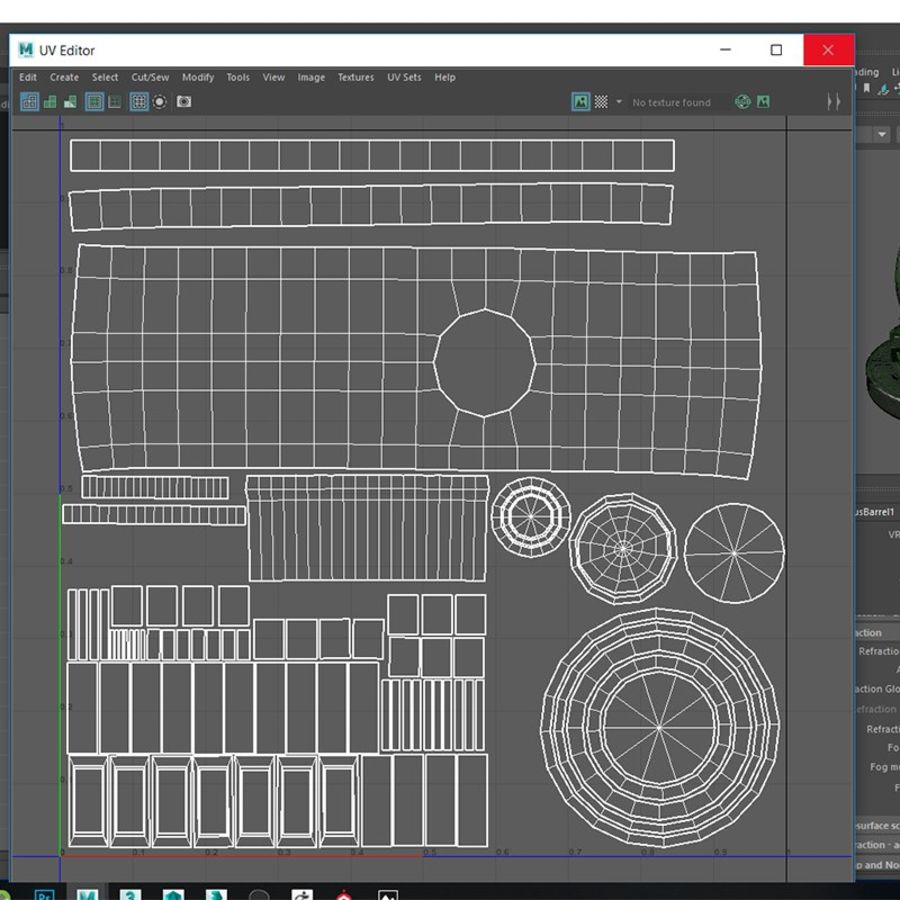 Barril misterioso royalty-free modelo 3d - Preview no. 13