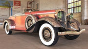 老爷车1932 3d model
