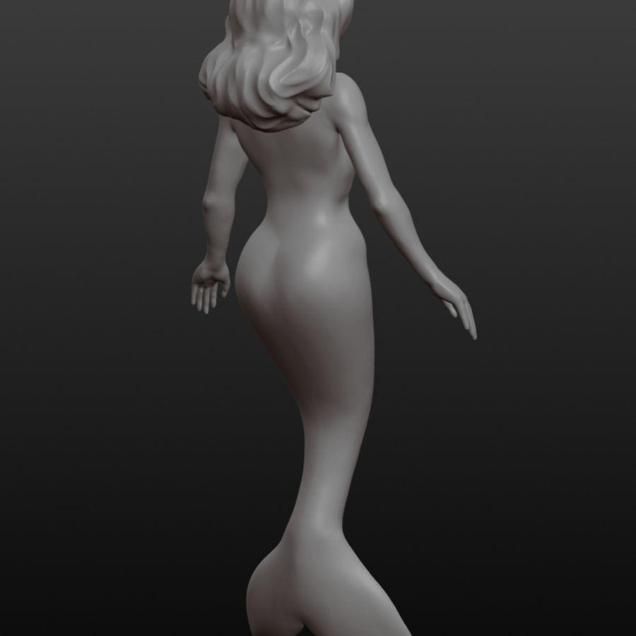 Mermaid 3d Model 20 Obj Stl Fbx Free3d