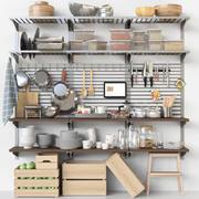 Mutfak için ıvır zıvır şeyler 16 3d model