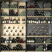 Wine Shop Restaurant 3d model