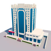 Doha public 3d model