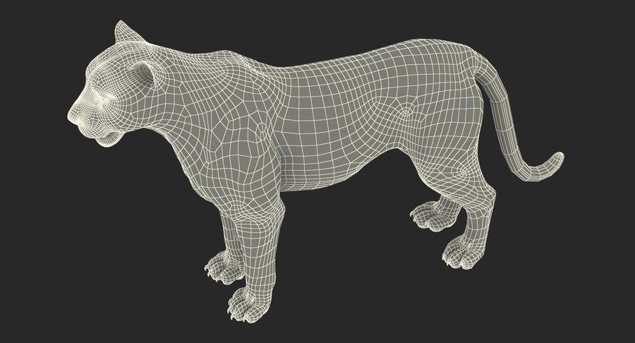 アフリカの動物3Dモデルコレクション3 royalty-free 3d model - Preview no. 42
