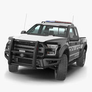 Polis Kamyonet Arma 3D Modeli 3d model