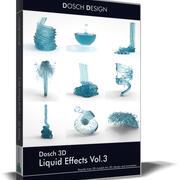 DOSCH 3D - Efectos líquidos Vol.3 modelo 3d