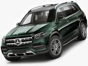 Mercedes GLS 2020 modelo 3d