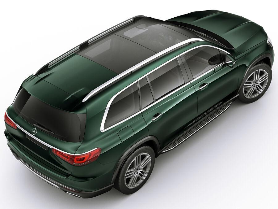Mercedes GLS 2020 royalty-free 3d model - Preview no. 7