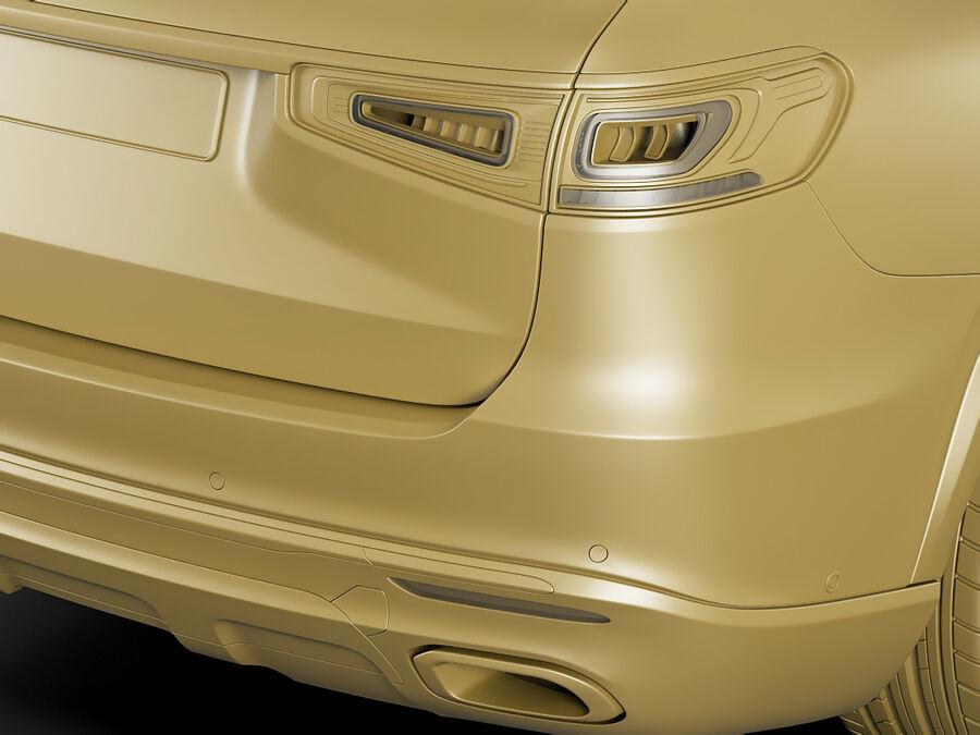 Mercedes GLS 2020 royalty-free 3d model - Preview no. 20
