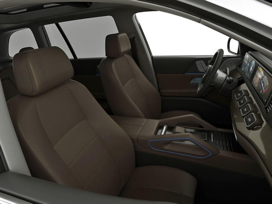 Mercedes GLS 2020 royalty-free 3d model - Preview no. 14