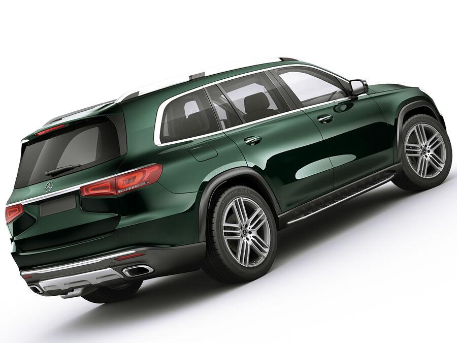 Mercedes GLS 2020 royalty-free 3d model - Preview no. 9