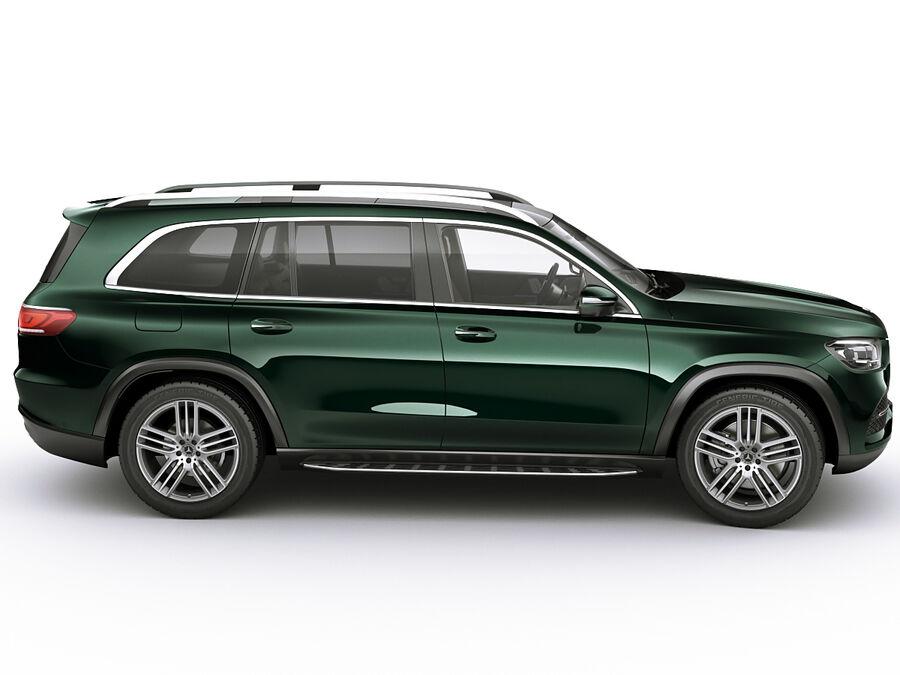 Mercedes GLS 2020 royalty-free 3d model - Preview no. 3