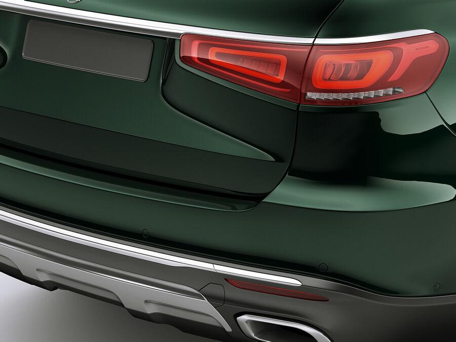 Mercedes GLS 2020 royalty-free 3d model - Preview no. 5