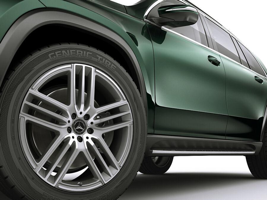 Mercedes GLS 2020 royalty-free 3d model - Preview no. 10