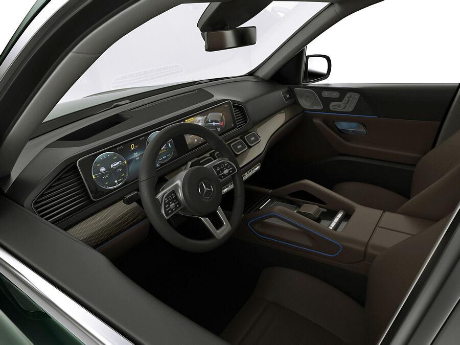 Mercedes GLS 2020 royalty-free 3d model - Preview no. 13