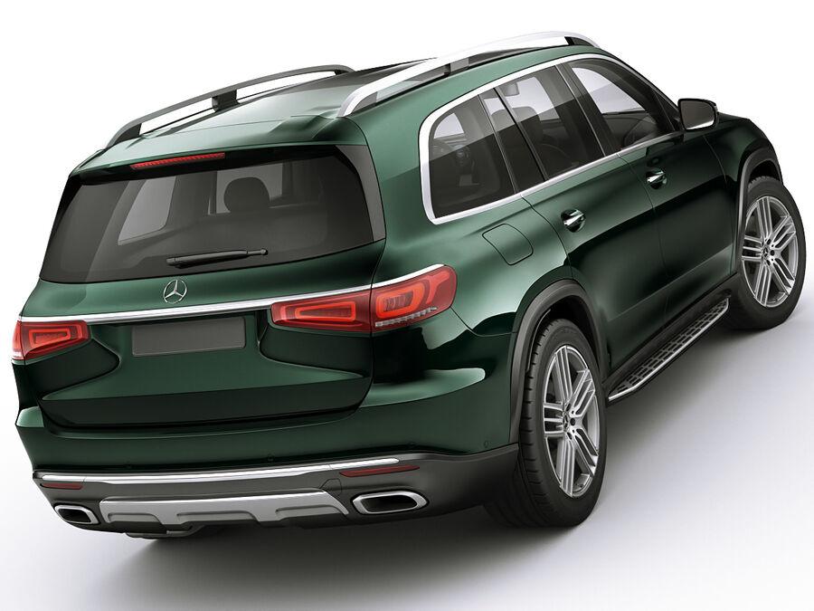 Mercedes GLS 2020 royalty-free 3d model - Preview no. 2