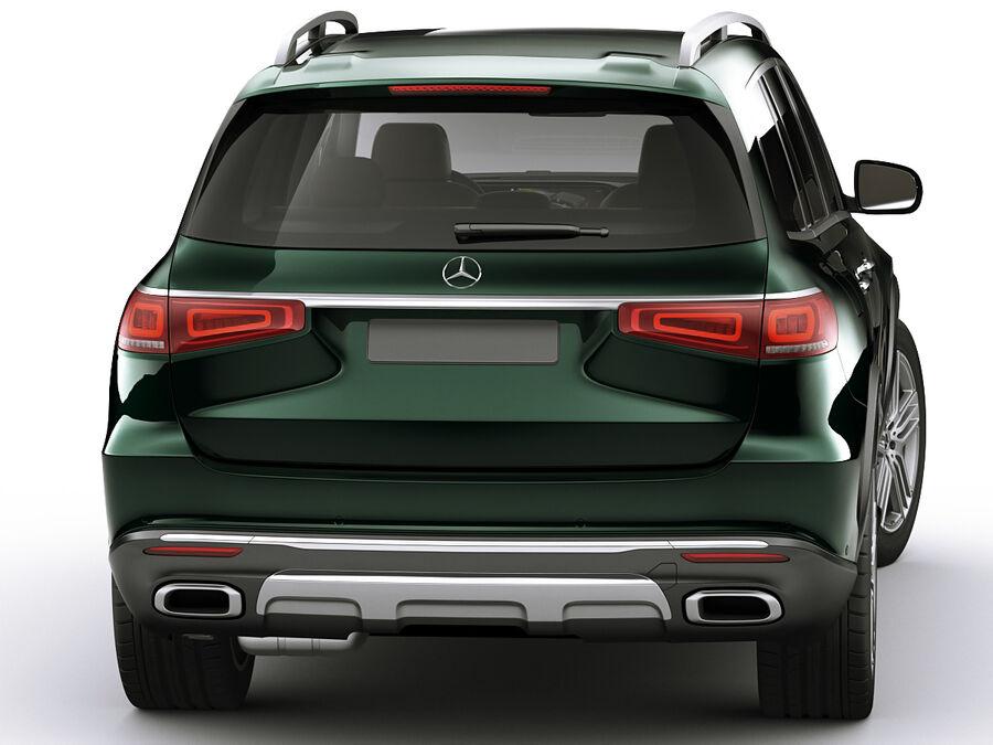 Mercedes GLS 2020 royalty-free 3d model - Preview no. 12