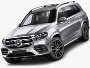 Mercedes GLS AMG-Line 2020 modelo 3d