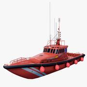 Arama Kurtarma Gemisi 3d model