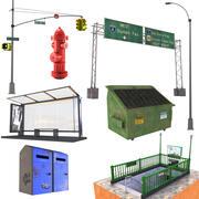 Street Set 3 3d model