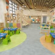 어린이 교실 8 3d model