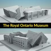로열 온타리오 박물관 3d model
