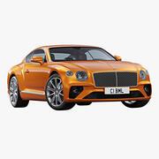 2020 Bentley Continental GT V8 3d model
