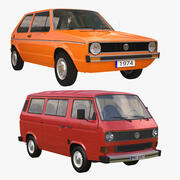 VW 1979 Collection 3d model