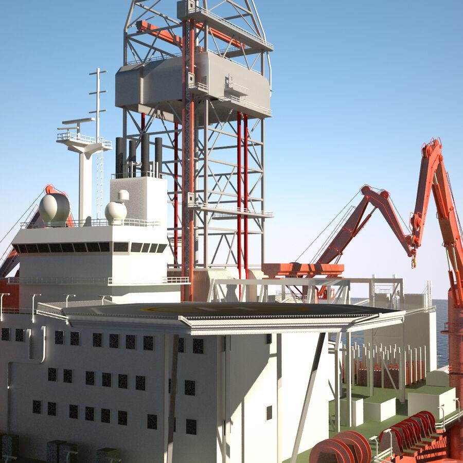Oil Production Platform Set royalty-free 3d model - Preview no. 42