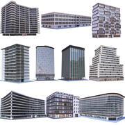 现代公寓建筑系列3 3d model