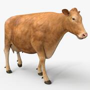 Vache PRO (Limousin) 3d model