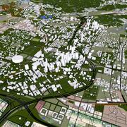 Atlanta City 3d model