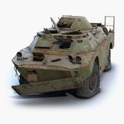 БРДМ-2 Чернобыль 3d model