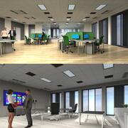 DOSCH 3D - Scene 3D - Office 02 - Plus 3d model