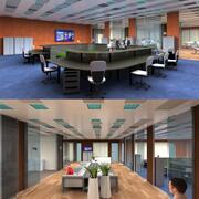 DOSCH 3D - Scene 3D - Office 03 - Plus 3d model