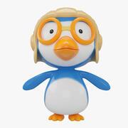 pororo penguin 3d model