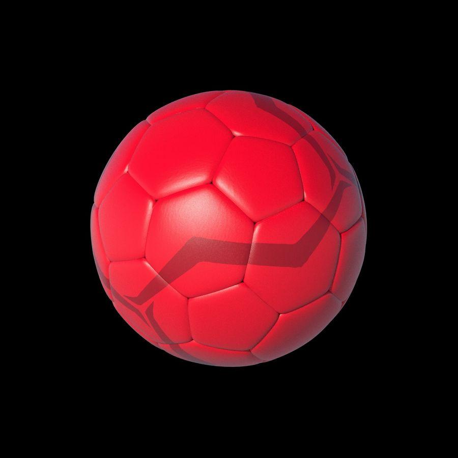 Beach Soccer Football Ball royalty-free 3d model - Preview no. 5