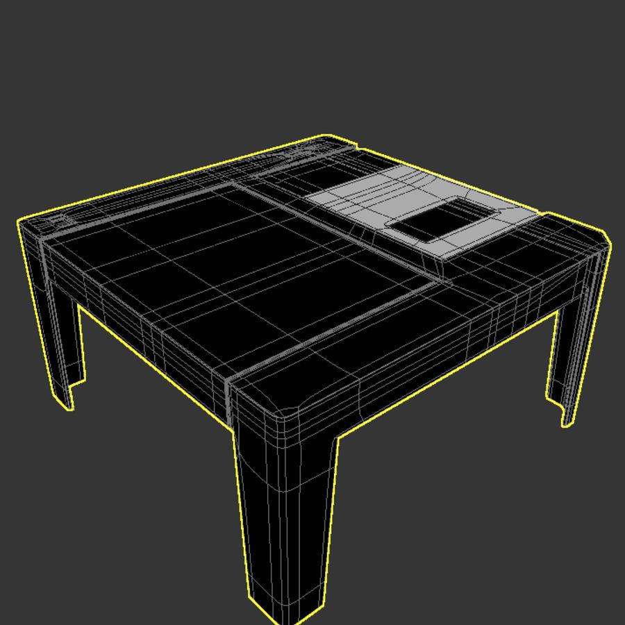 dyskietka stołowa royalty-free 3d model - Preview no. 6