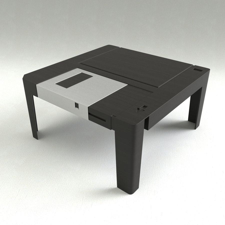 dyskietka stołowa royalty-free 3d model - Preview no. 1
